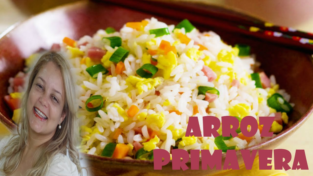 Como preparar arroz arroz primavera youtube for Como cocinar arroz