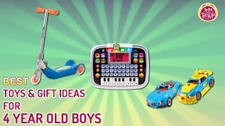 Best Toys & Gift Ideas For 4 Year Old Boys Reviewed In 2018 – T&t