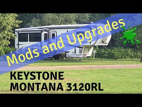 Mods, Upgrades & Improvements to our new Keystone Montana 3120RL
