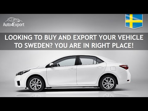 Shipping cars from USA to Sweden - Auto4Export