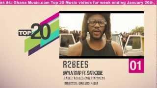 Top 20 Ghana Music Video Countdown - Week #4, 2013.