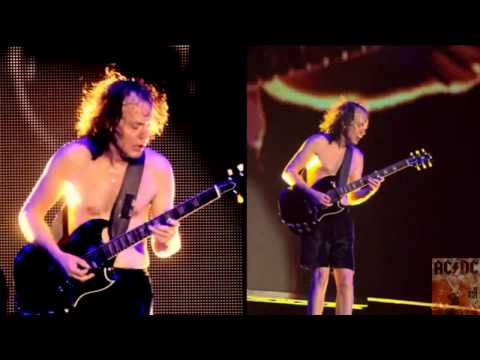 AC DC   Angus Young Guitar Solo Live At River Plate) HD