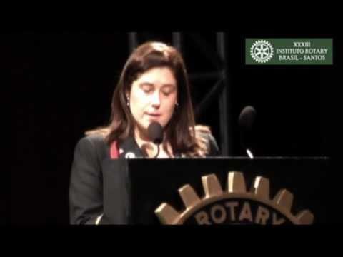 XXXIII Instituto Rotary Brasil Santos - Cinthia Correa da Costa Machado