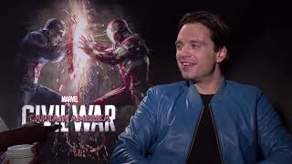 Anthony Mackie and Sebastian Stan auditioning for their show for 47 whole ass minutes