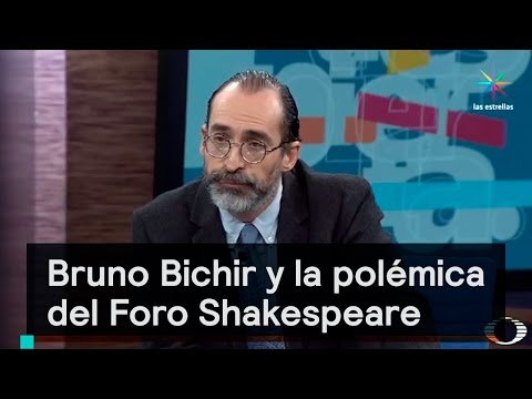 Foro Shakespeare: Bruno Bichir y el conflicto de intereses - Despierta con Loret