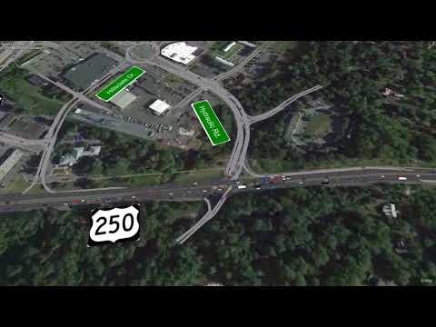 Route 29 Solutions: Video simulation - 2045 AM Scenario 1B 75 Perc