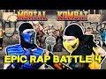 Scorpion And Sub Zero React DashieXP S Mortal Kombat Epic Rap Battle 4 MKX PARODY mp3