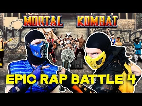 Scorpion and Sub Zero React: DashieXP's Mortal Kombat Epic Rap Battle 4! | MKX PARODY! thumbnail