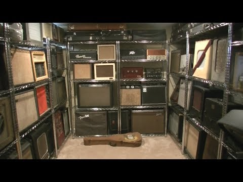 My HUGE 50+ Guitar Amp Collection - Storage Solution & Tour