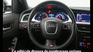 Audi a4 avant occasion visible à Brest présentée par Auto style brest