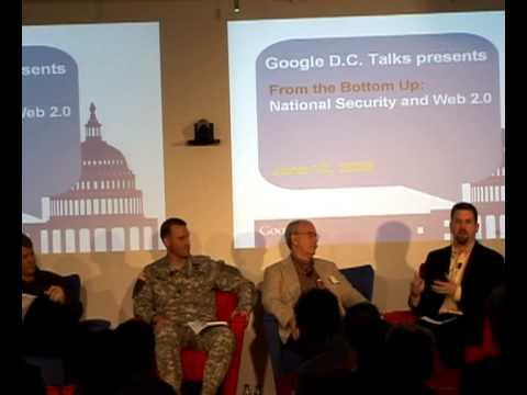 "Google D.C. Talks:  ""National Security and Web 2.0"""