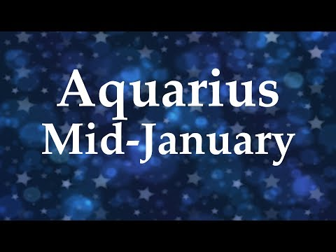 Aquarius Mid-January 2018 DIVINE CONNECTION BUT WILL YOU LET IT IN & SHINE? - Aquarian Insight