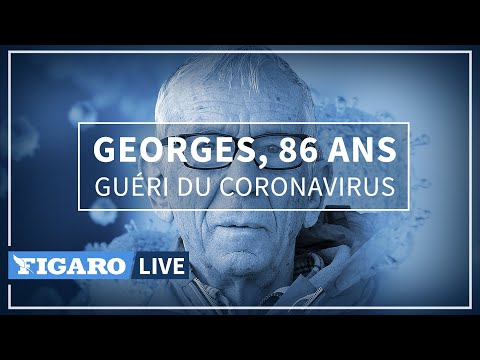 Georges, 86 ans et guéri du coronavirus
