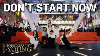 [CHALLENGE DANCE] 두아리파 DUA LIPA - don't start now choreo by J-young