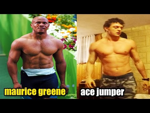 Maurice Greene training: off-season workout replicate by Ace jumper
