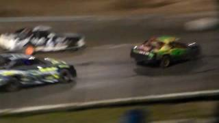USRA Stock Car feature @ Mason City Motor Speedway 9/18/16