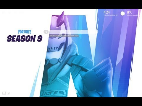 New Fortnite Season 9 Features HD Wallpaper Theme - Must Have!!!