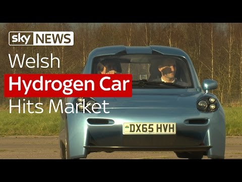 Welsh Hydrogen Car Hits Market