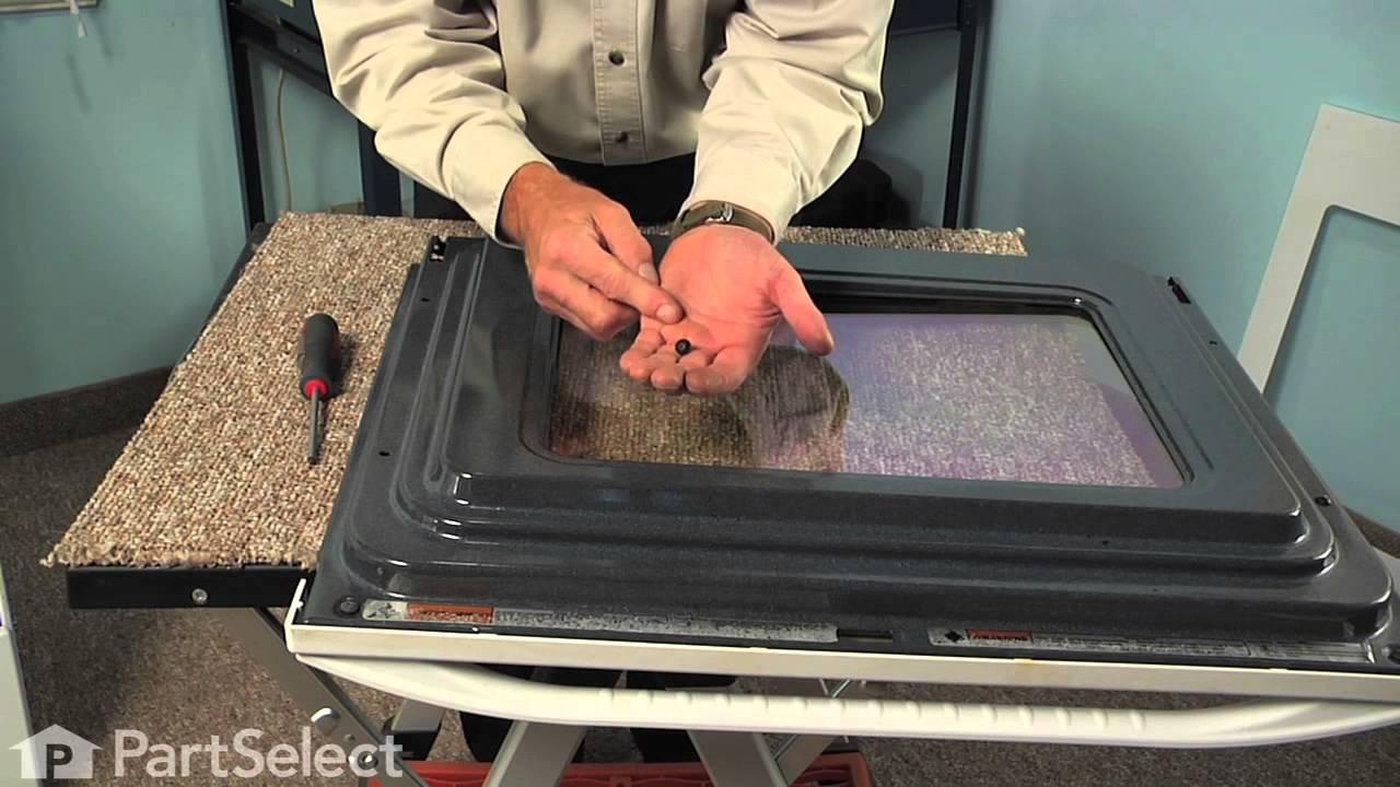 Range Repair  Replacing the Inner Oven Door Glass (Whirlpool Part # 8053948)  YouTube