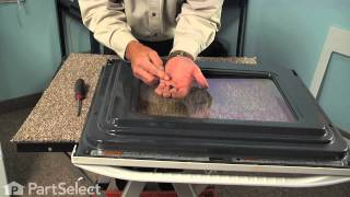 Range Repair - Replacing the Inner Oven Door Glass (Whirlpool Part # 8053948)
