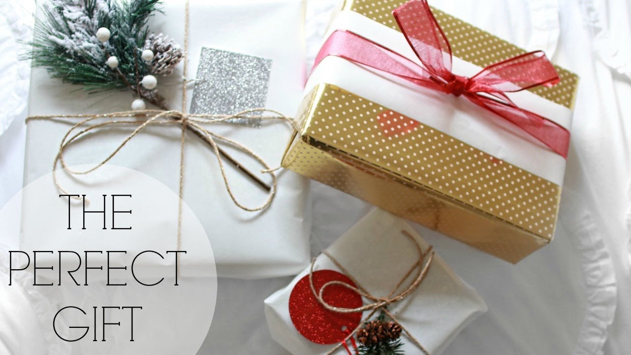 How To Wrap The Perfect Present 2 Ways