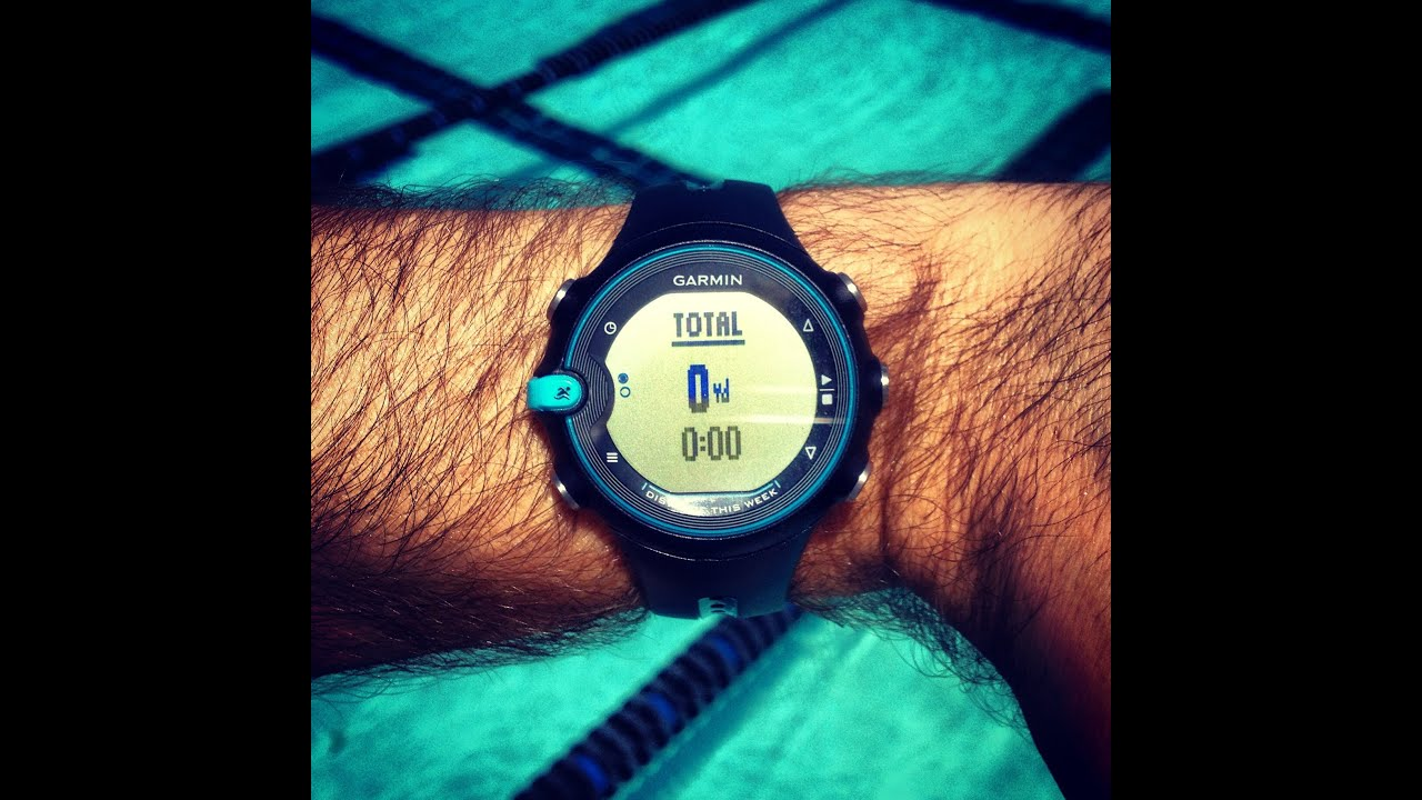 Garmin swim watch swimswam review presented by all american swim supply youtube for Garmin swim pool swimming watch