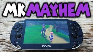 NEW! PS Vita Mushroom Kingdom Mayhem! Unity Homebrew Game!