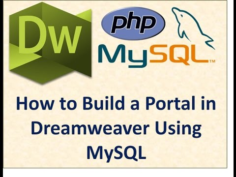 How to Build a Portal in Dreamweaver by Kindson Munonye