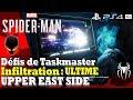 SPIDER-MAN : Défis de Taskmaster - Défi Infiltration [Niveau Ultime] 1/1 UPPER EAST SIDE