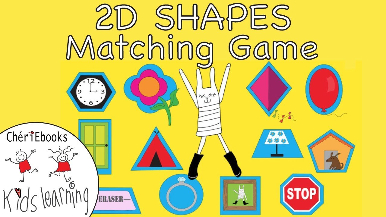 Learn Names Of 2D Geometric Shapes