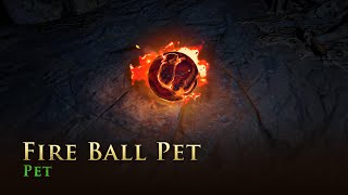 Path of Exile: Fire Ball Pet