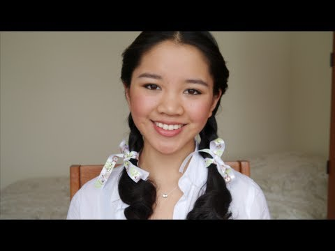 Hair Tutorial Dorothy Gale Wizard Of Oz YouTube