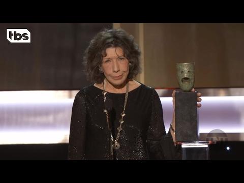 Lily Tomlin: Accepts Lifetime Achievement Award   23rd Annual SAG Awards   TBS
