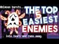 The Top 5 EASIEST Enemies in Undertale UNDERLAB