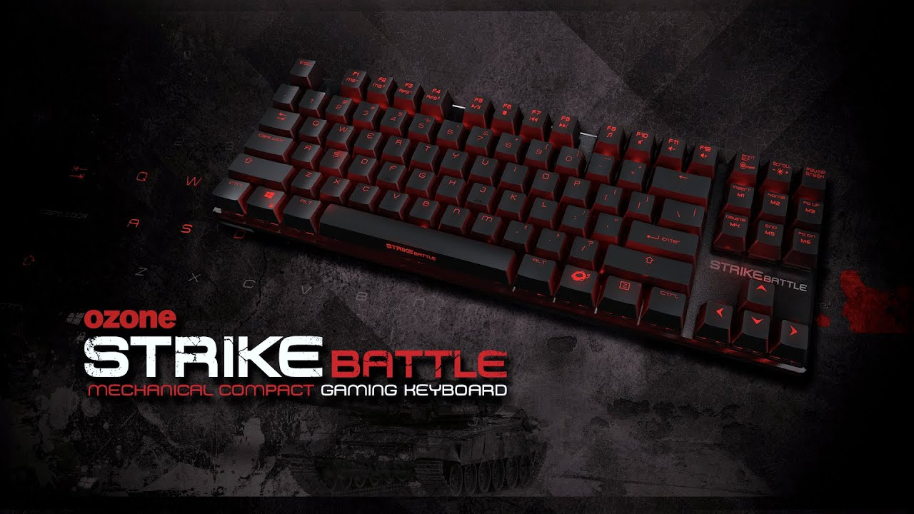 Keyboard Strike Battle - Ozone Gaming