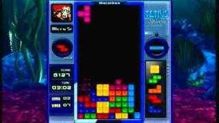 Tetris splash gameplay