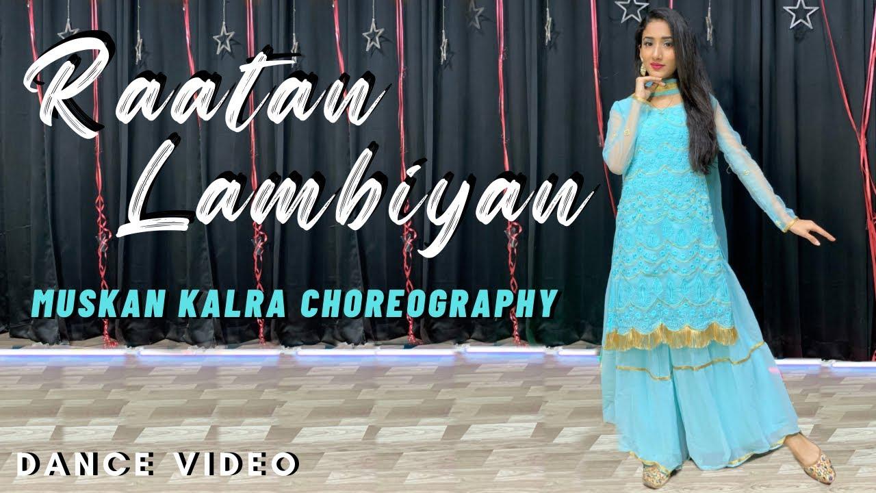 Download Raataan Lambiyan   Shershaah   Jubin Nautiyal   Asees Kaur   Dance Video   Muskan Kalra