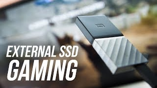 Gaming on an External Drive WITHOUT Slowdowns!