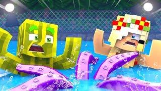 1 NACHTSCHICHT im SCHWIMMBAD?! - Minecraft NACHTSCHICHT