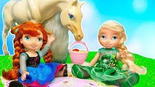 Мультик Барби #Игрушки для Детей с Эльза и Анна