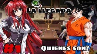 Goku en DxD V.2 #1 LA LLEGADA