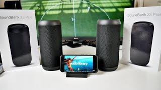 ZENBRE Z8 PLUS Bluetooth Speakers (TWS) True Wireless Stereo Sound
