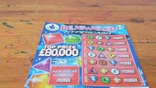 National Lottery Scratchcard 1