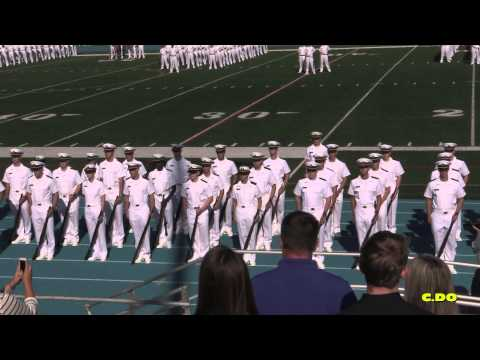 USMMA Class 2019 - Plebe Acceptance Ceremony & Parade -  part 1