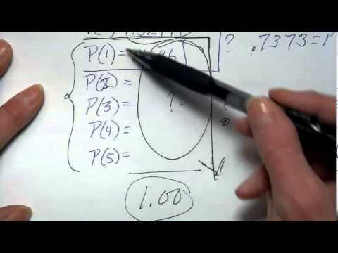 HVCC Statistics Ch 6    2/27/2014 Binomial and Poisson
