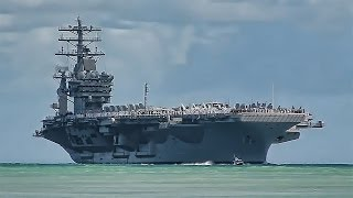USS Nimitz (CVN 68) Arrives At Pearl Harbor - Hawaii