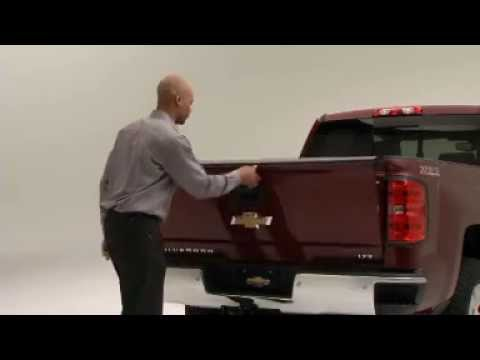 how things work 2014 chevy silverado ez easy lift tailgate mike savoie chevr. Cars Review. Best American Auto & Cars Review