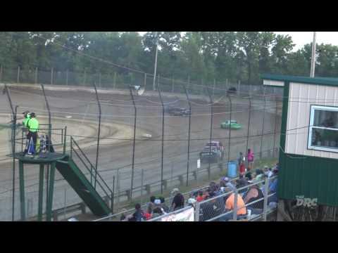 Moler Raceway Park   6.18.16   Crazy Compacts   Heat 2