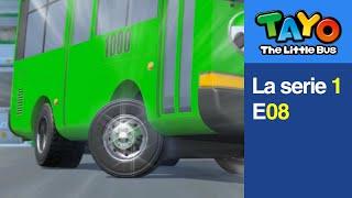 [Tayo Español la Serie 1] #08 Quiero neumáticos nuevos