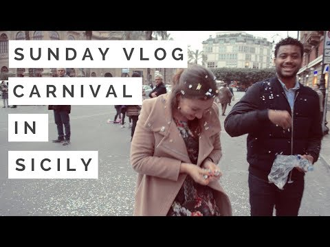 PALERMO SUNDAY VLOG #3 - How to Carnival? | Dragonfly's Heart